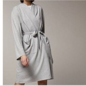 LOVE AND LORE READING ROBE GREY MIX